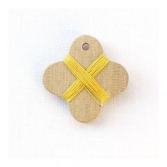 Cohana houten wikkelkaartje - 1st