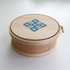 Cohana Magewappa opbergbox borduurring 15cm - 1st