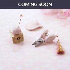 Cohana Sakura Masu mini speldenkussen en schaar roze - 1st