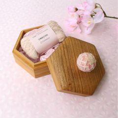 Cohana Sakura Temari garen in houten doos - 1st