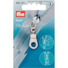 Prym Ritsenschuiver ring zilver - 5st