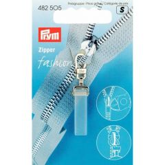 Prym Ritsenschuiver crystal transparant - 5st