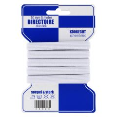 Blauwe kaart elastiek 10mm - 10x5m - 009