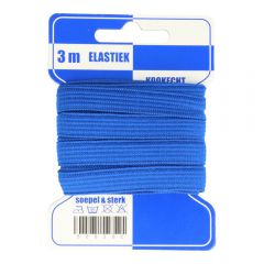 Blauwe kaart elastiek breed 10mm -10x3m