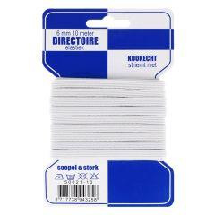 Blauwe kaart directoire elastiek 6mm - 10x10m