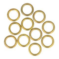 Prym Gordijnringen 11.00-16.00mm goud - 100st