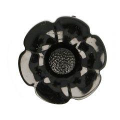 Knoop bloem verwisselbaar hartje maat 60 - 25st