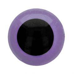 Dierenogen - veiligheidsogen tweekleurig 8mm- 50st