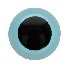 Dierenogen - veiligheidsogen tweekleurig 6mm - 100st