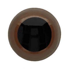 Dierenogen - veiligheidsogen tweekleurig 24mm- 20st