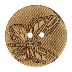 "Knoop kokos gelaserd vlinder 32""-70"" - 30-50st."