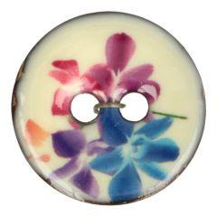 "Knoop kokos bloem paars-blauw 32""-64"" - 30-50st."