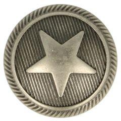 """Knoop metaal 24"""" ster - 50st"""