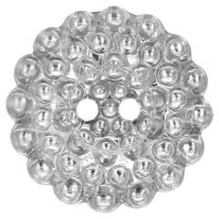 "Knoop Zilver margrietje 20""-40"" - 30-50st."