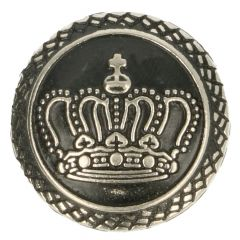 Knoop Metaal kroon 17,5mm - 50st ASI/SI/GO