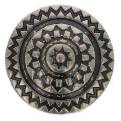Knoop metaal IJsland maat 28 - 17.50mm - 50st