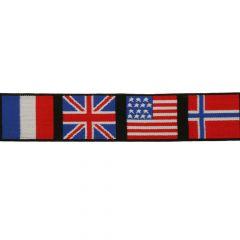 Elastiek vlaggen 40mm - 10m