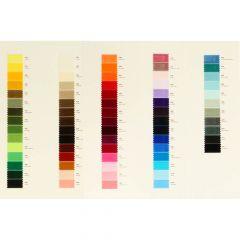 Kleurkaart fluweelband - 1st