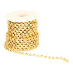 Diamantband goud of zilver 4mm - 9,2m