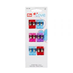 Prym Love stof clips 2,6-5,5cm - 5st