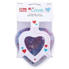 Prym Love stof clips 2,6cm - 3x40st