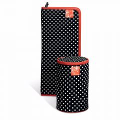 Prym Wol dispenser Polka dots zwart-wit - 1st II
