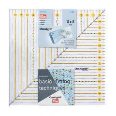 Prym Omnigrid patchwork liniaal inch - 3st