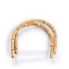 Prym Tasgrepen bamboe Kim 15,5x13cm - 3x2st