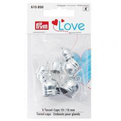 Prym Love eindkappen voor kwasten 10-16mm - 3x6st