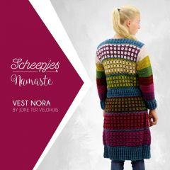 Scheepjes Haakpatroon Namaste vest Nora - 10st