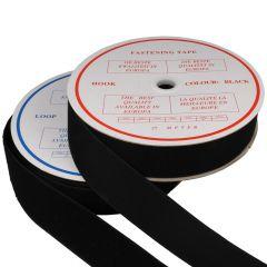 Klittenband naaibaar 50mm haak en lus - 25m