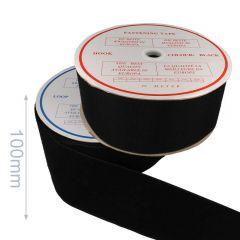 Klittenband naaibaar haak en lus 100mm - 25m