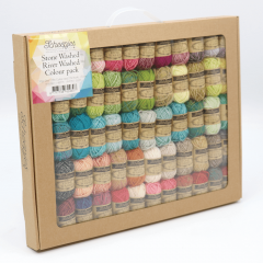 Scheepjes StoneWashed-RiverWashed Colour Pack 58x10g - 1st