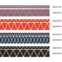 Elastiek met zigzag 10mm - 10x3m