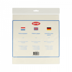 Opry Patroonpapier 1-3m2 transparant - 50-100st