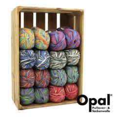 Opal Assortiment 6-draads 2x150g - 8 kleuren - 1st