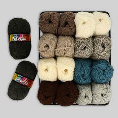 Scheepjes Socky Pulli assortiment 2x50g - 9 kleuren - 1st