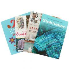 Boeken assortiment haken en breien klein - 1st