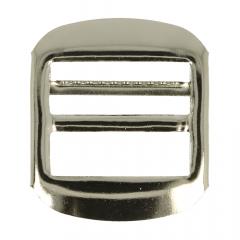 Gesp metaal 25mm zilver - 12st