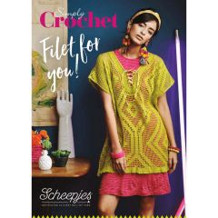 Scheepjes Simply Crochet Filet for You hand-out - 10st