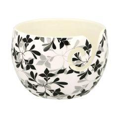 Scheepjes Yarn bowl Black Leaf onbreekbaar - 1st