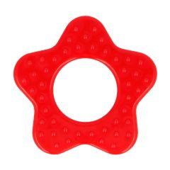 Opry Bijtring ster met noppen 65mm - 5st