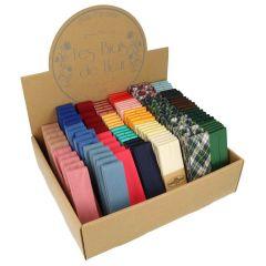 Dox Biaisband assortiment katoen-satijn - 24 kleuren - 1st