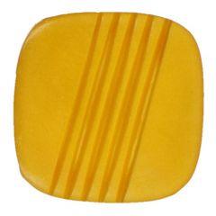 Knoopje vierkant maat 12-15 - 50-60st