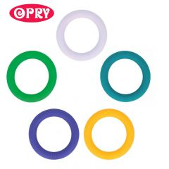 Opry Siliconen bijtring rond 65mm - 5st - AST