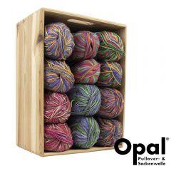 Opal Assortiment 2x75 of 2x150g - 6 kleuren - 1st