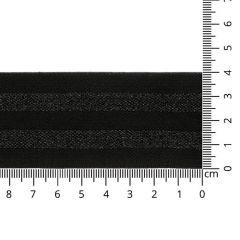 Elastiek gestreept lurex 40mm - 10m