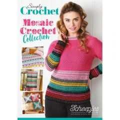 Scheepjes Simply Crochet Mosaic Crochet Collection UK - 10st