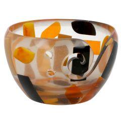 Scheepjes Yarn bowl kunststof 13x8cm transparant - 1st