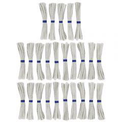 Directoire elastiek bundel 6mm grijs - 25x7m